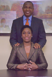 The great minds and the driving forces behind the success of Thoronka Law Offices, Mr. and Mrs. Ishmael and Kamah Thoronka.