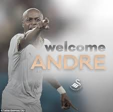 Deputy captain of the Black Stars, Andre Ayew.
