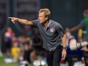 Jurgen Klinsmann will be anxious on Saturday to ensure history repeats itself.