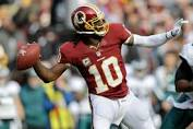 Robert Griffin III is perspicacious on the field. He is the  guy to lead the Redskins to championship glory.