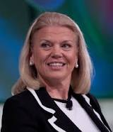 Mrs. Ginny Rometty, who double-majored in computer science and electrical engineering, is the first female to head IBM.